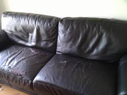 restaurer canapé cuir renover canape cuir craquele conceptions de la maison bizoko com