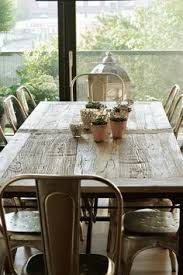 Metal Dining Room Chair Keep It Interesting With A Mix Of Metal And Wicker Chairs