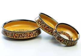Home Decor Accessories Online by Heritage Urli Serving Set Set Of 3 From The Exclusive Home Decor