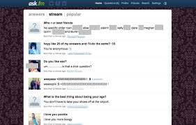 Ask Fm Ask Fm The Troubling Secret Playground Of Tweens And Cnet