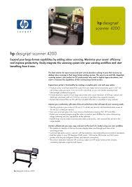 download free pdf for hp designjet 4200 scanner manual