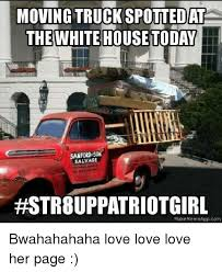 Make Meme App - moving truckspottedate the white house today sanford salvage