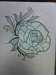 Rose Flower Design Lush Rose Flower Tattoo Design Best Tattoo Designs