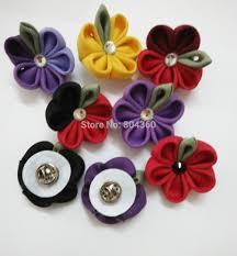 lapel flower 44 colors wool felt lapel pins men s suit lapel flowers in