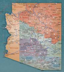 Tucson Arizona Map by Arizona Travel Guide Phoenix Hotels Tucson Resorts Azlta