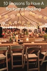 Cheap Backyard Reception Ideas 80 Best Backyard Wedding Images On Pinterest Silk Flowers Jute