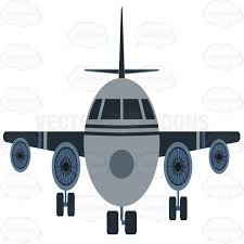 airplane front clipart clipartxtras