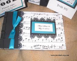 sweet 16 photo albums musica nota guest book album compleanno laurea retirment