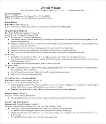 Resume Of Teacher Sample by Modern Resume Templates 42 Free Psd Word Pdf Document Download