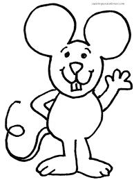imagenes de ratones faciles para dibujar para colorear ratones