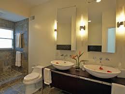 bathroom mirror side lights contemporary modern wall lights on bathroom mirror side with two