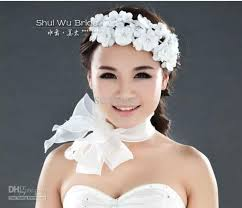 headdress for wedding best selling wedding bridal flower hair flower bridal flower