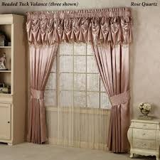 bathroom outstanding elegant shower curtains with valance