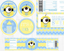 minion baby shower marvellous minion baby shower invitation template 6 photo