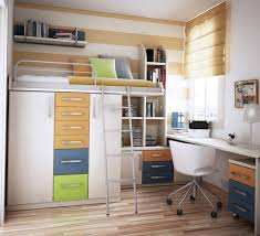 Wooden Beds With Drawers Underneath Twin Loft Bed With Desk And Storage Brown Wooden Laminated White