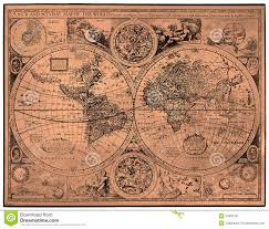 Ancient World Map by Map Of Ancient World Stock Photo Image 52605761