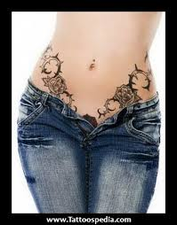 lower stomach designs for