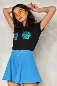 Holographic Clothing For Sale Shell Out Holographic Tee Shop Clothes At Nasty Gal