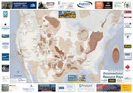 Gas Map North America Shale Map Oil U0026 Gas Financial Journal