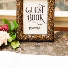 wedding sign in books wedding guest books