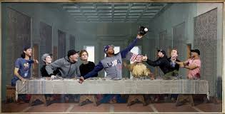 Last Supper Meme - mlb memes on twitter adam jones with the last supper catch credit