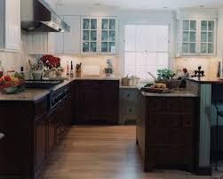 kitchen exquisite cool oak cabinets with dark floors honey oak