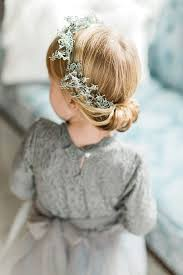 flowergirl hair women hairstyles flower girl hairstyles half up half flower