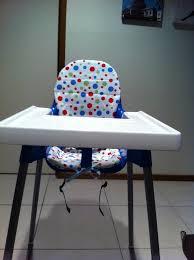 coussin chaise haute bebe le coussin réversible pour chaise haute ikea my