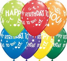 birthday balloons birthday notes 11 inch balloons 25pcs
