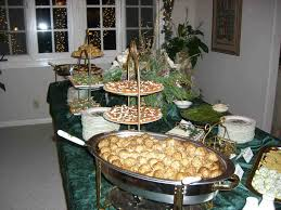 christmas buffet table decoration ideas cheminee website