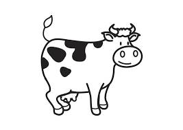 coloring page cow img 17792