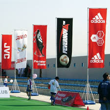 promotional flags outdoor event flags printed fabric event flags