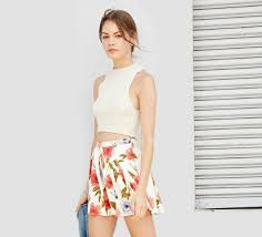 pleated skirt forever 21 fabulous find of the week forever 21 pleated floral skirt