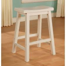 white saddle seat bar stool foter