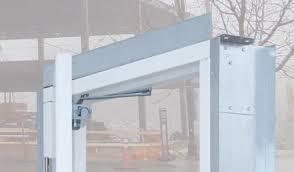 Building An Exterior Door Frame Series 23 Prehung Commercial Steel Service Doors Post Frame