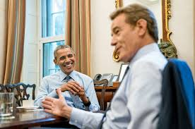 barack obama and bryan cranston on the roles of a lifetime the