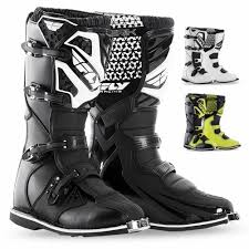 motocross gear boots fly racing maverik mx youth off road dirt bike motocross boots