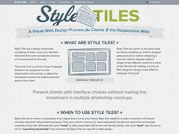 Designers Guide To Working With Style Guides  Style Tiles Hongkiat - Interior design styles guide