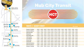 Cta Bus Route Map by Hub City Transit City Of Hattiesburg