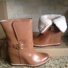 size 12 womens ankle boots australia ugg australia cypress leather fur cuff boots womens us 12 color