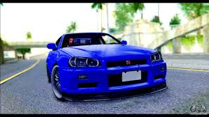 nissan r34 fast and furious nissan skyline gtr r 34 from fast and furious 4 for gta san andreas