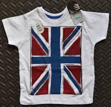 British Flag Bedding Primark Boys British Flag Union Jack T Shirt White Cartoon Effect