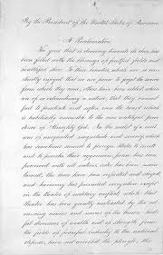 lincoln s historic thanksgiving proclamation of 1863 the