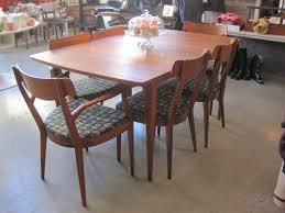 simple mid century modern dining sets best mid century modern