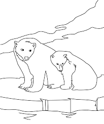 polar bear polar bear do you hear coloring pages u2014 allmadecine