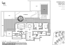 Residence Floor Plans Leedon Residence 6100 7705 Showflat