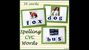 N Cvc Words by Spelling Cvc Words Youtube