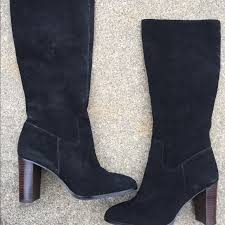 womens boots lord and lord s lord black suede boots 8 5b