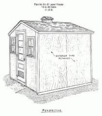 chicken house plans 107 best coop building plans images on