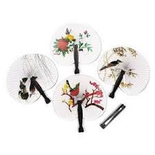cheap hand fans for wedding new arrival paper hand fan wedding decoration event party supplies